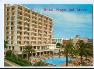 Y17815/ Cala Millor Mallorca Hotel Playa del Moro Spanien AK