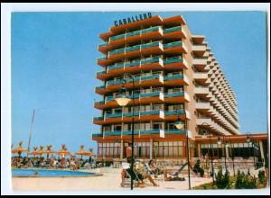 Y17818/ Playas de Palma Hotel Caballero Mallorca Spanien AK 1973