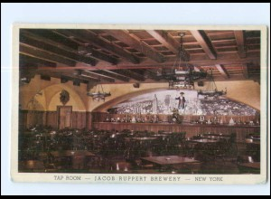 Y17836/ New York City Jacob Ruppert Brewery - Tap Room USA AK