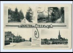 V870/ Groeten uit Steenwijk Niederlande AK ca.1935