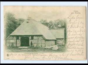 XX11308/ Husum Ostenfelder Bauernhaus 1900 AK