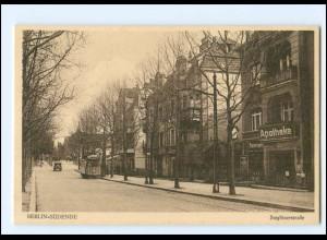 XX11223/ Berlin Südende Steglitzerstr. Straßenbahn AK ca.1925