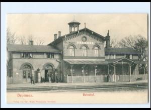 XX11431-3118/ Bevensen Bahnhof AK 1907