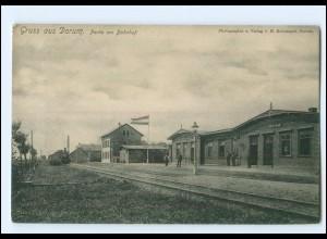 XX11388/ Dorum Bahnhof Ak ca.1912