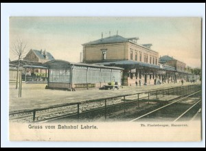 XX11395/ Bahnhof Lehrte Ak 1912