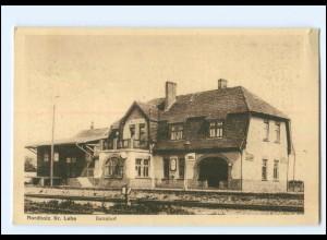 XX11430-2859/ Nordholz Kr. Lehe Bahnhof AK ca.1925