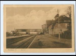 XX11408/ Rotenburg Bahnhof AK 1919