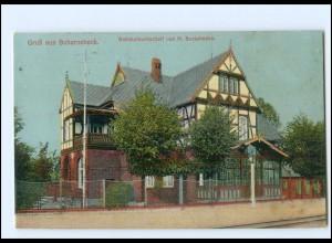 XX11345-2127/ Scharnebeck Bahnhofswirtschaft Bockelmann AK 1919