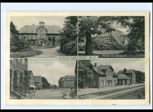 XX11367-2175/ Cadenberge Bahnhof, Berufsschule AK ca.1955