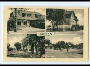XX11423-3139/ Jameln Bahnhof, Kaufhaus Evers AK ca.1950