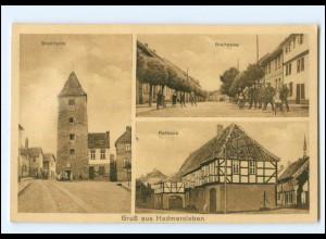 XX11575-393./ Hadmersleben Stadtturm Rathaus Breiteweg AK