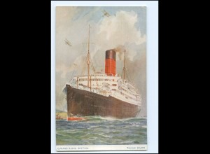 XX11992/ Dampfer Scythia Cunard R.M.S. AK ca.1912