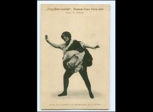 XX11998/ Vergißmeinnicht - Damen-Tanz-Turn-Akt Variete AK ca.1912