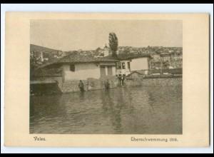 XX12004/ Veles Überschwemmung 1916 Hochwasser Mazedonien AK
