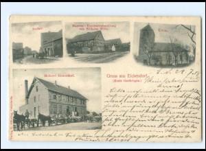 XX11577-393./ Gruß aus Eickendorf Kreis Gardelegen 1918 AK