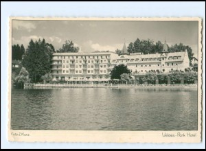 XX12007/ Veldes - Park Hotel Foto AK 1942 Slowenien