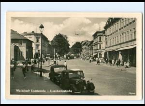 XX11584-162./ Eberswalde Eisenbahnstraße 1957 Foto AK