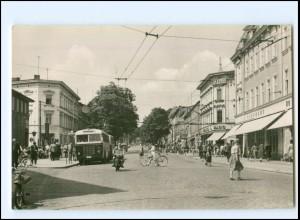 XX11585-162./ Eberswalde Eisenbahnstraße Omnibus AK