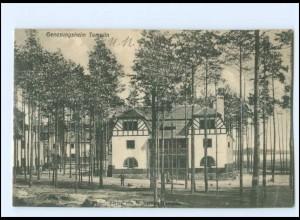 XX11590-172./ Templin Genesungsheim 1909 AK