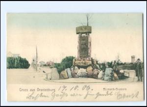 XX11591-165./ Oranienburg Bismarck-Brunnen 1906 AK