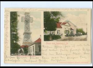 XX11580-065./ Gruß vom Auerberg 1901 AK