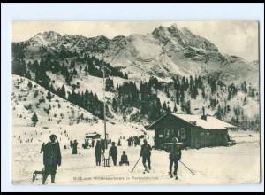 XX11570/ Partenkirchen Wintersportplatz 1914 AK