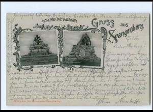 XX11511-3509/ Spangenberg Monumental-Brunnen 1910 AK