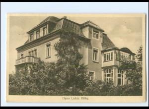 XX11543-01./ Dresden-Loschwitz Haus Lichte Höhe 1939 AK