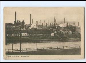 XX11686/ Saarbrücken Hüttenwerk Bergbau AK 1919