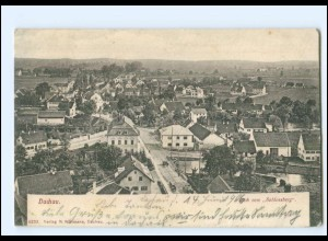 XX11574/ Dachau Blick vom Schlossberg 1906 AK