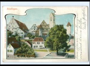 XX11505-7940/ Riedlingen 1906 AK