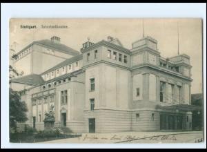 XX11908/ Stuttgart Interimtheater AK 1915