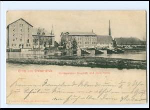 XX11624/ Gruß aus Bremervörde 1900 AK