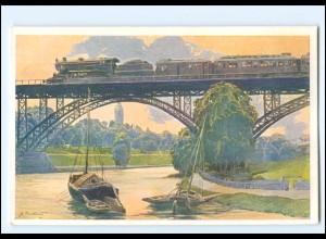 XX11892/ Eisenbahn Lokomotve Künstler AK B.K.W I. 759-4 ca.1912