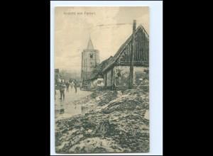 XX14785/ Fareuil zerstört 1. Weltkrieg AK ca.1915