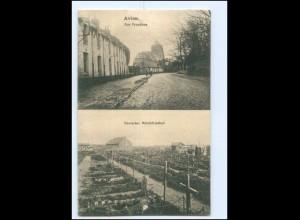 XX11874/ Avion Rue Proudhon, Deutscher Militärfriedhof AK Frankreich -622-