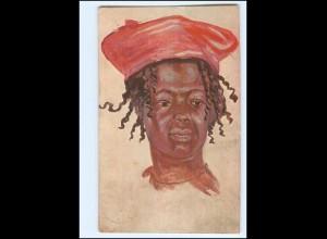 XX11882/ Vollbehr Künstler AK Mädchen aus Süd-Kamerun Afrika Kolonien ca.1912