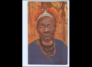 XX11913/ Vollbehr Künstler AK Kamerun Häuptlin Senge, Kolonien ca. 1912