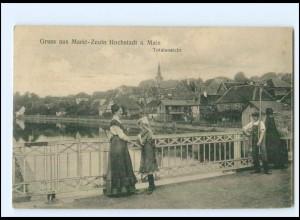 XX11563/ Markt-Zeuln Hochstadt am Main AK