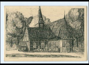 XX11612/ Hamburg Bergedorf Kirche AK