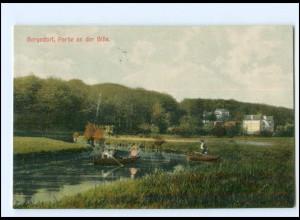 XX11614/ Bergedorf Partie an der Bille 1907 AK