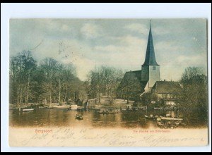 XX11911/ Hamburg Bergedorf Kirche AK 1905