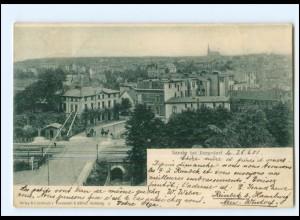 XX11616/ Hamburg Sande bei Bergedorf 1901 AK