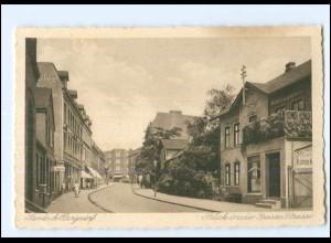 XX11618/ Hamburg Bergedorf Sande Blick in die Große Straße AK