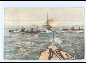 XX12538/ Torpedoboote Deutscher Flotten-Verein AK Marine 1916
