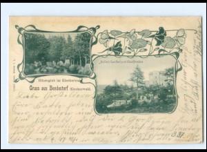 XX11632-2106/ Gruß aus Bendestorf Kleckerwald 1901 AK