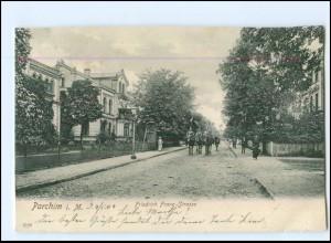 XX11546-193./ Parchim Friedrich Franz-Straße 1904 AK