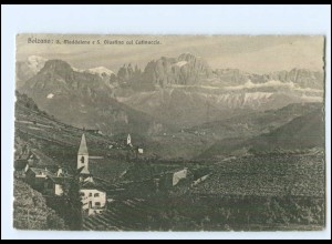 XX11922/ Bolzano Bozen S. Maddalena Südtirol AK Italien