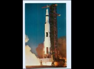 Y17984/ Raumfahrt Apollo Rakete Kennedy Space Center USA AK