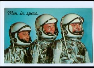 Y17986/ Raumfahrt - Astronauten Grissom, Glenn und Shepard 1962 AK